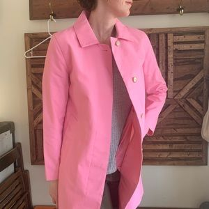 💕Bubblegum Pink 💕vintage GAP canvas trench